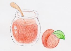 杏ジャムと杏 by fumiko