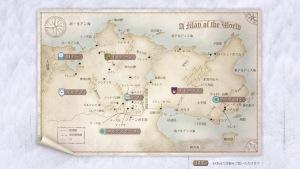 サラファーンの地図 by fumiko&公式サイトチーム
