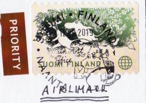 ムーミンの消印(フィンランドからの手紙)