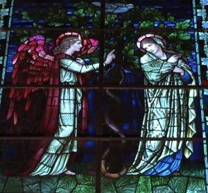 バーン=ジョーンズのステンドグラス(ウィンチェスター大聖堂)
